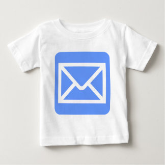 Envelope Sign - Baby Blue Baby T-Shirt