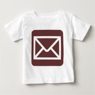 Envelope Sign - Dark Brown Tees
