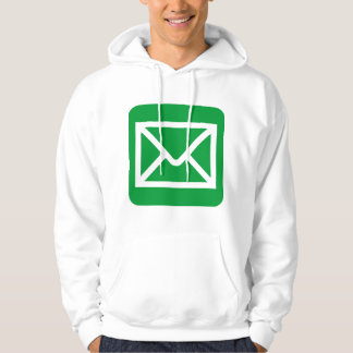 Envelope Sign - Grass Green Hoodie