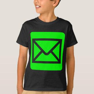 Envelope Sign - Green T-shirts