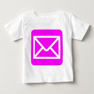 Envelope Sign - Magenta Baby T-Shirt