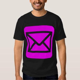 Envelope Sign - Magenta Shirts