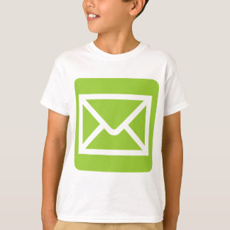 Envelope Sign - Martian Green Tshirt