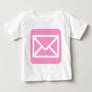 Envelope Sign - Pink Baby T-Shirt