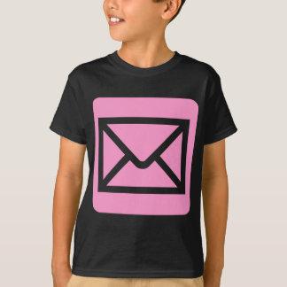 Envelope Sign - Pink Tshirts