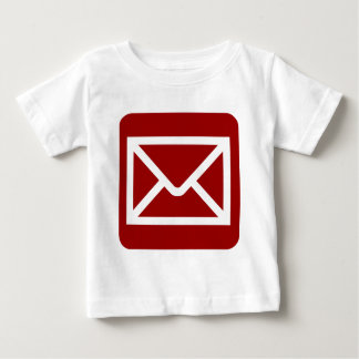 Envelope Sign - Ruby Red Baby T-Shirt