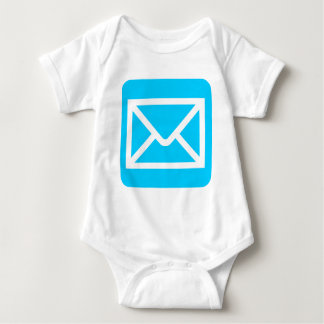 Envelope Sign - Sky Blue Baby Bodysuit