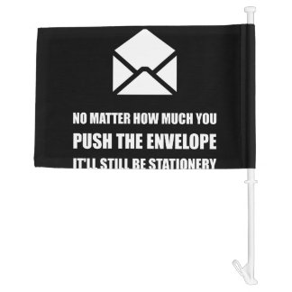 Envelope Stationery Car Flag