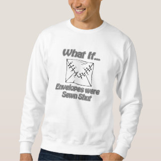 Envelopes Pull Over Sweatshirts