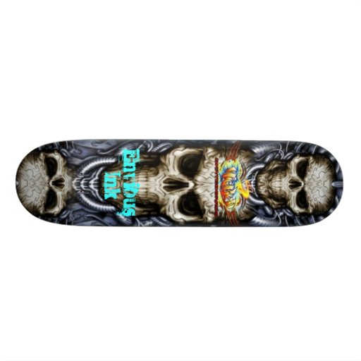 Envious Ink Tattoo & Art Gallery Skateboard by Rob