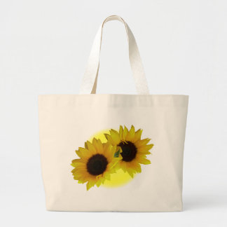Enviro-Friendly Sunflower Tote Bag Sunflower Bags