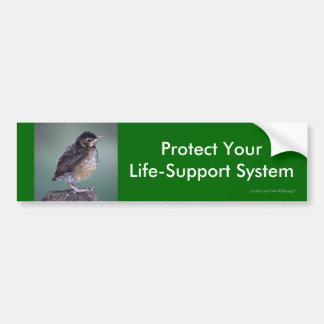 environment bumper sticker