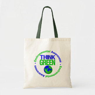 Environment THINK GREEN Save Our Planet Tote Bag