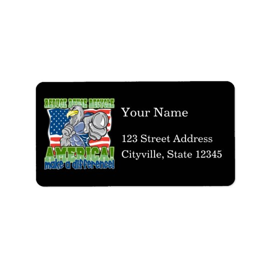 Environmental America Address Label