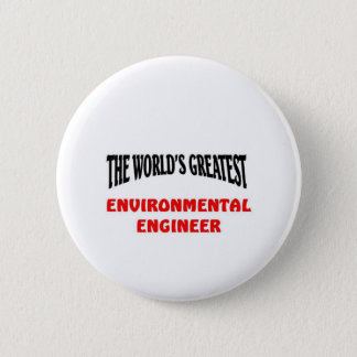 Environmental Engineer 6 Cm Round Badge