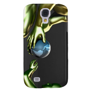 Environmental Friendly Awareness for Children Galaxy S4 Covers