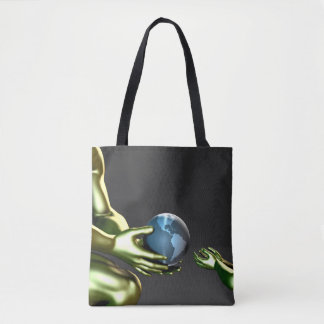 Environmental Friendly Awareness for Children Tote Bag