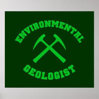 Environmental Geologist Poster