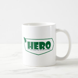 Environmental hero coffee mug