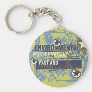 Environmental Preservation Tshirts and Gifts Key Ring