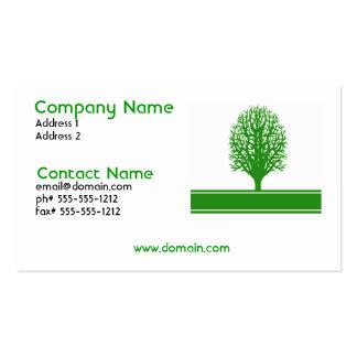 Environmental Problems Business Card