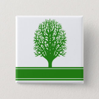 Environmental Problems Square Pin
