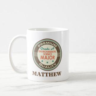Environmental Science Major Personalized Mug Gift