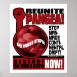 Environmentalism - Reunite Pangea!: Protest Poster