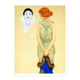 Envy - from the Pierrot's Love Series Postcard
