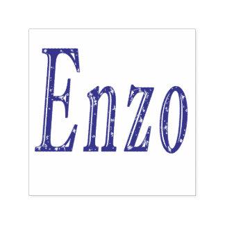 Enzo, Name Logo, Self-inking Stamp