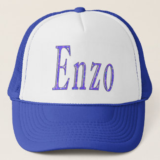 Enzo, Name Logo, Trucker Hat