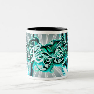 Enzo Two-Tone Coffee Mug