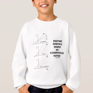 Enzyme Kinetics Shapes My Competitive Nature Sweatshirt