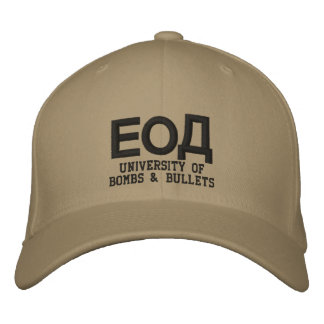 EOD Cyrillic Embroidered Hat
