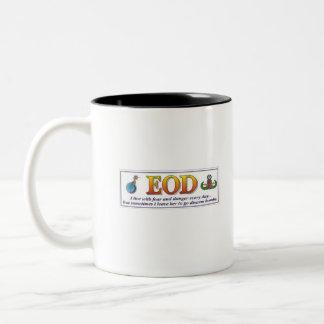 EOD Fear Two-Tone Coffee Mug