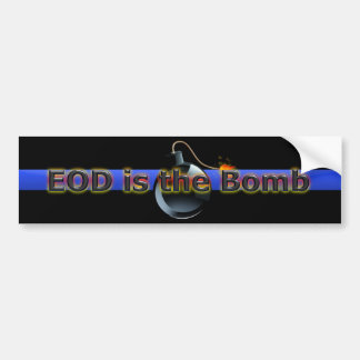 EOD is the Bomb Bumper Sticker