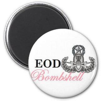 eod master bombshell 6 cm round magnet