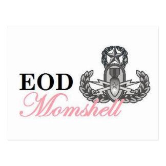 eod master momshell postcard