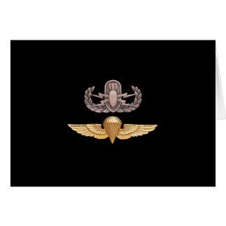 EOD Parachutist Card