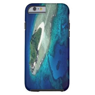 Eori Island, Mamanuca Islands, Fiji - aerial Tough iPhone 6 Case