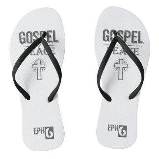 EPH6 - Gospel of Peace Flip Flops