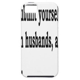 Eph. 5:22 iPhone 5 case