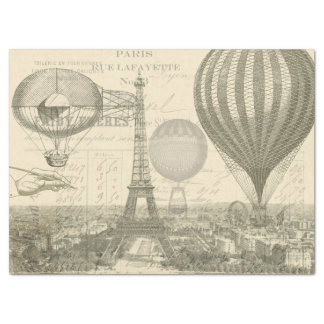 Ephemera Balloon Decoupage Tissue Tissue Paper