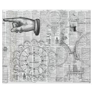 Ephemera Collage Wrapping Paper