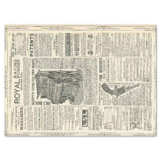Ephemera Decoupage Paper
