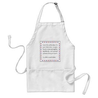 ephemera tip standard apron