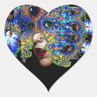 EPHEMERAL Heart Heart Stickers