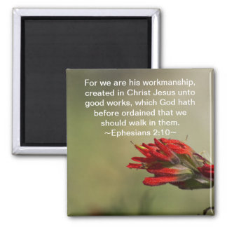 Ephesians 2:10 magnet