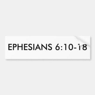 EPHESIANS 6:10-18 BUMPER STICKER
