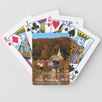 Ephraim, Wisconsin at Sunset Bicycle Playing Cards